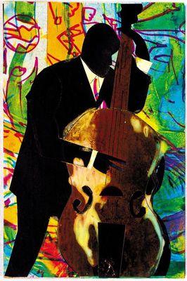 Romare Bearden - Time For Bass