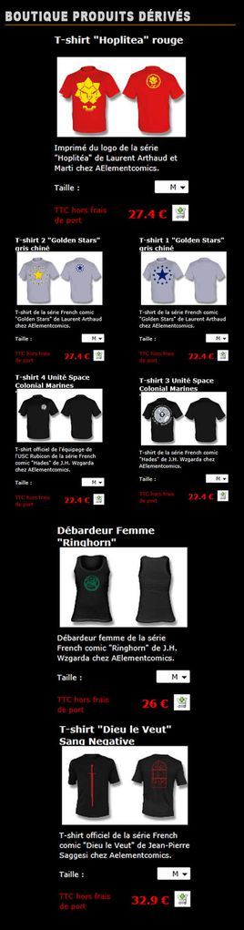 Colonne-T-shirts