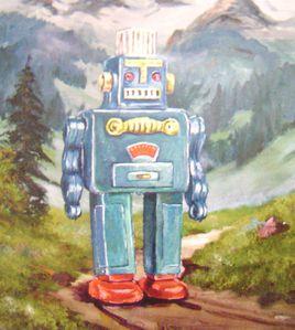 Robot peinture, Michael Beckers