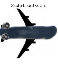 ElisaDERCEVILLLE skateboard volant