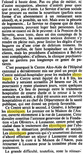 Copie (3) de HISTOIRE 938 gazette de lausanne 25 10 1984