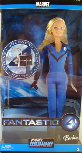 2006 Invisible Woman Fantastic 4 Marvel (en boite) No-J0871