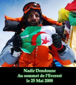 Nadir dendoune algerie everest himalaya