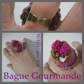 bague TUTO CROCHET DIY
