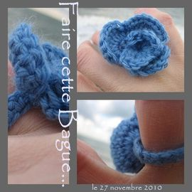 bague tuto crochet