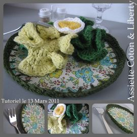 assiette dinette liberty crochet