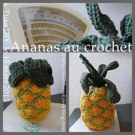 DINETTE AU CROCHET ANANAS BELETTE