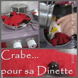 crabe tuto dinette