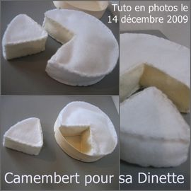 faire camembert feutrine