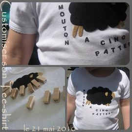 customiser tee shirt