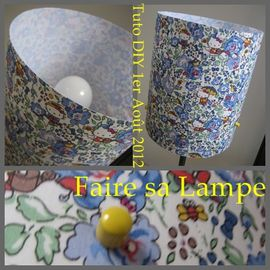 LAMPE TUTO DIY