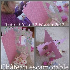 TUTO CHATEAU PRINCESSE JOUET
