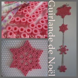 guirlande nol CHRISTMAS GARLAND TUTO DIY