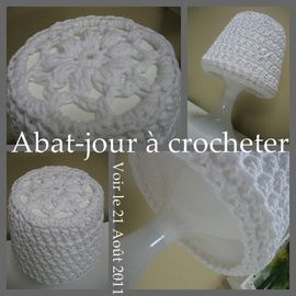 lampe crochet tuto
