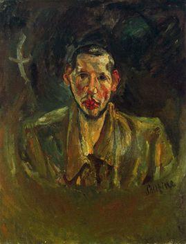 11 Autoportrait Soutine 1917 Autoportrait à la barbe Coll