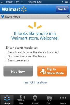 CRM, Retail, Marketing Strategy and Beyond: Walmart's Mobile