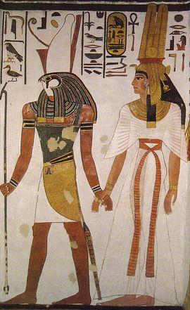 Nefertari tombeau Horus