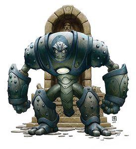 Armored Golem