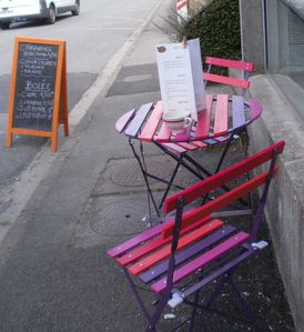 Pause déjeuner en terrasse