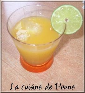 PUNCH GLACE AUX AGRUMES 2
