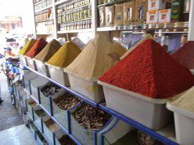 Marrakech souk herboristerie01