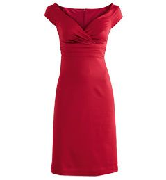 robe satin cache coeur rouge gdm 39.95