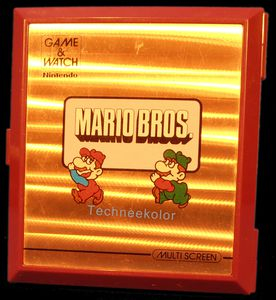 Game & Watch Mario Bros,Mars 1983
