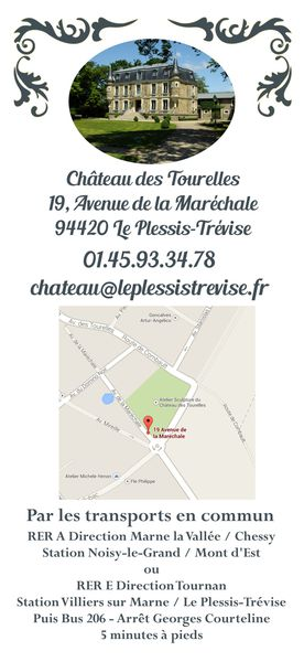 carton verso expo chateau LE PLESSIS TREVISE 2014
