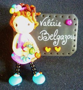 belgazou creation 2012 badge personnalise