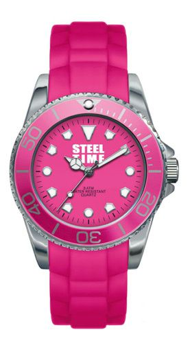 Montre-Steel-Time-rose