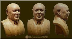 Portrait en buste - Serge Huysmans, Repliqua 3D: sculpteur portraitiste