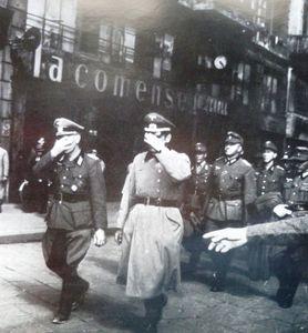 1945 aprile Milano tedeschi prigionieri