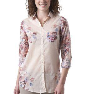 chemise à fleurs promod 39.95