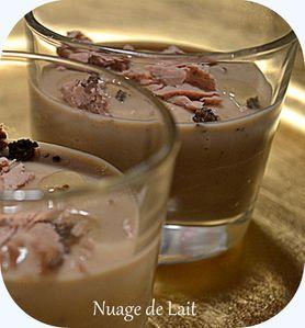 velouté de marrons copeaux de foie gras