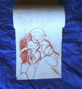 dessin-preparatoire-maud-et-le-chat-a-la-sanguine