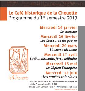 PROGRAMME 2013 1