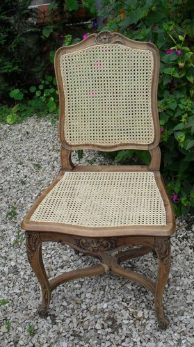 Chaises De Style Regence Avant La Patine Le Blog De Jadis