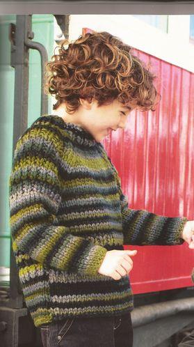 modele tricot bebe aiguille 10