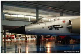 Musee Air Espace Le Bourget Mirage III