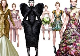 Ignasi monreal fashion illustrations 2