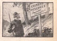 chasse réservée