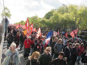 Front de Gauche Marseille 14 avril 2012 retour