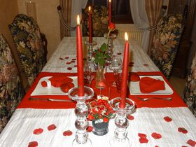 Saint valentin 2013 des id es et du temps - Table de saint valentin ...