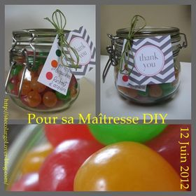 TEACHER 's gift DIY HOW TO