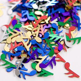 confettis de table note de musique
