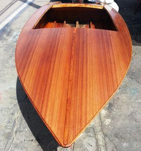 california 17 ft california wooden ski boat full restoration