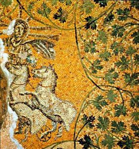 Jesus-Helios mosaique 3eS