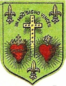 SAINTE OLIVE DE FRANCE IN HOC SIGNO VINCES SAINTS COEURS UN