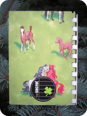Scrap'Inès Carnet chevaux Horses notebook (2)