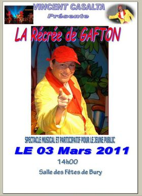 Gafton la recree affiche